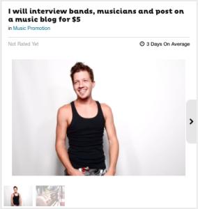 fiverr interview